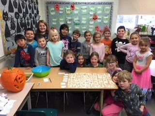 NEWS FROM MRS. MARTEINSSON'S GRADE ONE TWO CLASS